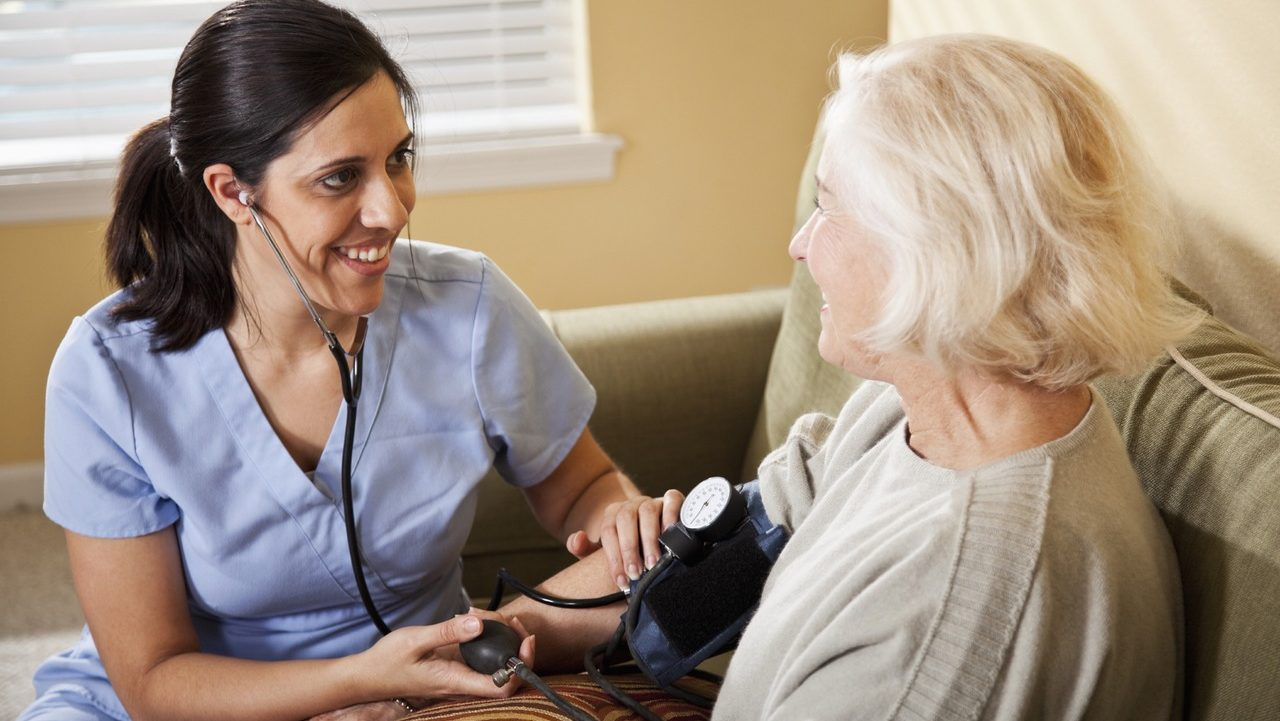 What types of care are offered in home healthcare services?