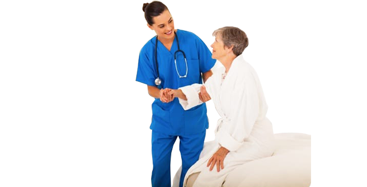 proper care is given by our nursing staff for healthcare
